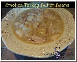 turkey butter mold greg s smoked turkey wing southern butter beans greg s kitchen