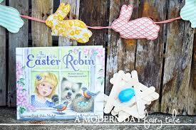 Kids Craft Center - a modern day fairy tale the legend of the easter robin review