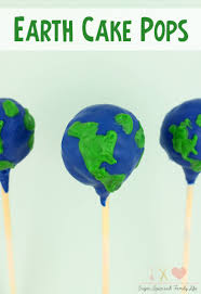 earth cake pops recipe sugar spice and family life