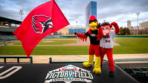 Cardinal Flag Ball State Baseball Game At Victory Field Is This Tuesday Ball
