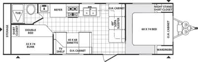 Auto Dealer Floor Plan 2007 Palomino Puma 27fq Travel Trailer Riceville Ia Gansen Auto
