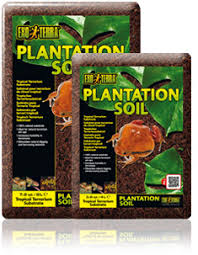exo terra plantation soil tropical terrarium substrate