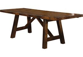 Dark Wood Dining Room Table Mango Burnished Walnut Dining Table Dining Tables Dark Wood
