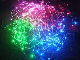 Blue Led String Lights by Review Of Rtgs Four Colors Of Micro Led 60 String Lights Technogog