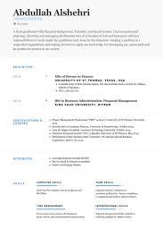 finance resume samples visualcv resume samples database