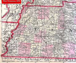 Tennessee Map With Counties by Map Of West Tn U2013 Cdlu