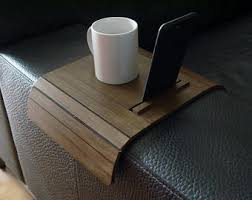 Armchair Side Table Armchair Table Etsy