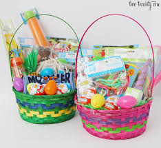 easter baskets for toddlers easter basket ideas for toddlers