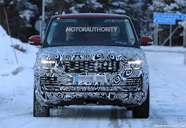 land rover range rover spy shots news about cool cars