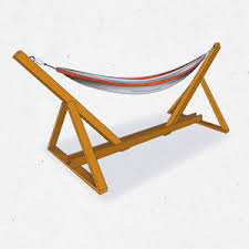 make your own hammock stand diy hammock stand