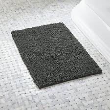 bathroom accent rugs bathroom rugs and bath mats crate and barrel