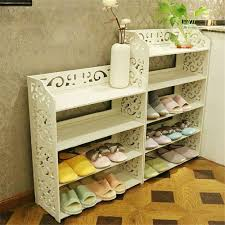 1pcs white wood carving shelf storage home organizer 3 4 5 tier 1pcs white wood carving shelf storage home organizer 3 4 5 tier shoe shoes