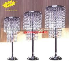 chandelier table top wedding centerpiece candelabra silver silver chandelier candelabrs with crystal hanging