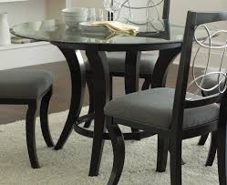 48 In Round Dining Table Table Round Glass Dining Table Beach Style Compact The Awesome