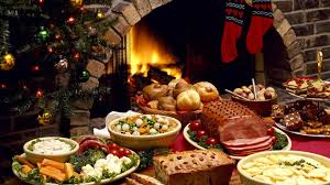 download wallpaper 3840x2160 christmas fireplace festive table