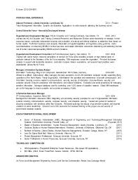 Human Resource Resume Sample by Human Resource Resume Hr Cv Example Hr Cv Examples And Template 2