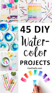 45 diy watercolor projects ideas you can try with your kids u2022 cool