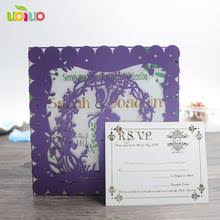 Wedding Cards Wishes Online Get Cheap Purple Wedding Cards Aliexpress Com Alibaba Group