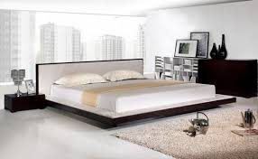 finding comfort inside the bedroom with alaskan king bed and nice