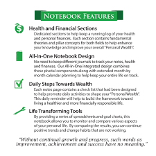 Features Of Spreadsheets Notebook Healthy Financials Inc