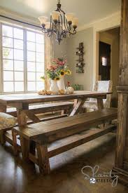Dining Room Table Bench Seats Diy  Bench For The Dining Table - Dining room bench seat