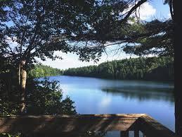 Pink Lake Pink Lake Trail Gatineau Park Quebec With Wildstray Com