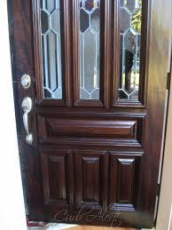 Refinish Exterior Door How To Refinish Your Front Door Using Minwax Gel Stain
