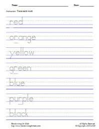 basic etiquette handwriting and spelling worksheet free to print