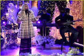 Rockefeller Center Christmas Tree Lighting 2015 Full Performers