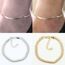 ankle bracelet gold images Gold ankle bracelet anklets ebay jpg