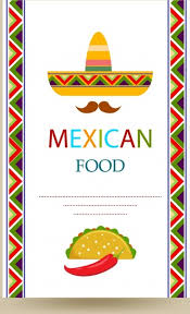 simple menu template free mexican menu template free backstorysports
