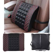 new car lumbar support pillow 12v electric massage lumbar pillow