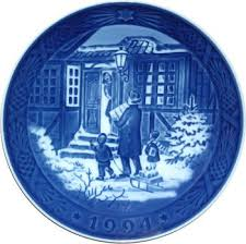 royal copenhagen plate 1994 home kitchen