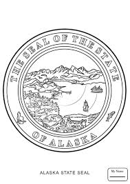 Alaska State Flag Coloring Page Alaska Map Countries Cultures Alaska Coloring Pages For Kids