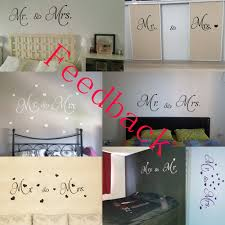 Wall Quotes For Living Room by D542 Mr U0026 Mrs Quotes Vinyl Wall Decal Living Room Decoration