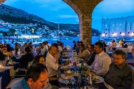 Gradska Kavana Arsenal Restaurant View Form The Restaurant Picture Of Gradska Kavana Dubrovnik