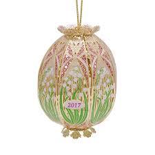trellis egg ornament 2017 chemart ornaments solid brass ornament