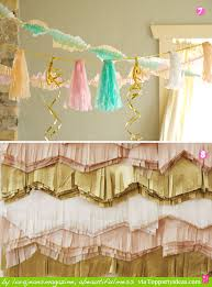 20 Party Decorating Ideas Using Paper Streamers