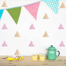 Wall Decals Patterns Color The by Popular Decals Triangles Buy Cheap Decals Triangles Lots From