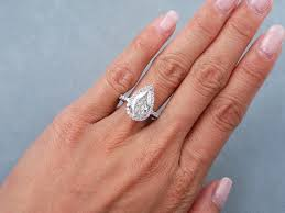 pear engagement ring pear shaped solitaire engagement ring 12842