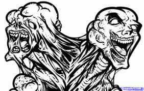 zombies coloring pages 2944 coloringbus