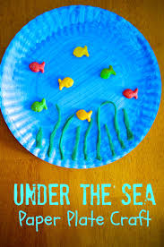 easy paper plate ocean crab craft for kids to celebrate summer