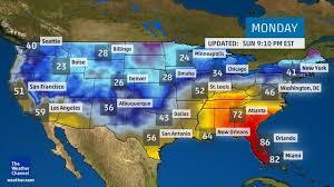 weather usa map usa weather map 12 28 15 eyetheticker com