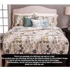 Tribal Pattern Comforter Blue White Bedding Rococo Bed Cap Comforter Set