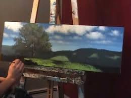 fan brush oil painting landscape painting tips and tricks by tim gagnon painting grass