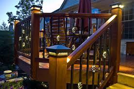 Led Solar Deck Lights - beauty outdoor deck lights u2014 all home design ideas