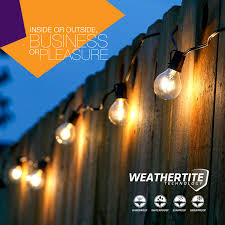 Commercial Led Light Strings by Brightech Store Brightech U2013 Ambience Pro Led String Lights With