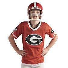 halloween football costumes amazon com franklin sports ncaa deluxe youth team uniform set