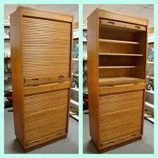 Roll Door Cabinet Found In Ithaca Mid Century Russian Roll Top Door Cabinet