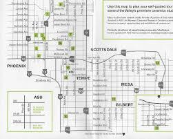 Asu Map Events Artizona Clay Studio